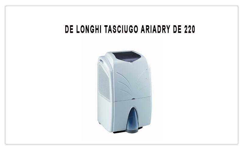 TASCIUGO ARIADRY DE 220 DE'LONGHI