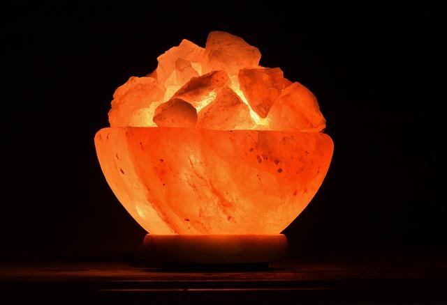 Deumidificatore non elettrico: lampada di sale