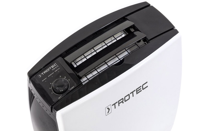 Deumidificatore Tortec Ttk 31 E: capacità di deumidificazione 12litri/24h