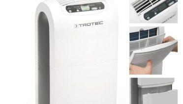 Deumidificatore Tortek TTK 100 E: capacità di deumidificazione 30litri/24h