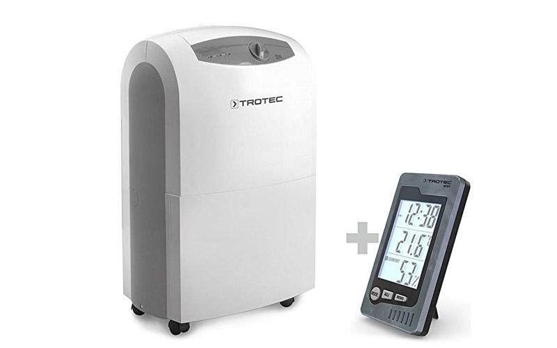 Deumidificatore Trotec Ttk 100 s: per umidità ambiente da 40 a 100% (relativa)