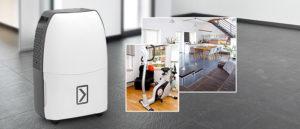 Deumidificatore Tortec Ttk 40 E: ideale per ambienti fino a 60 m³